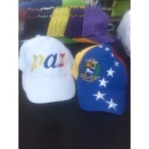 Gorras Tricolor Venezuela Unicolores Mayor