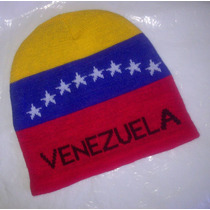 Gorras Pasamontañas Tricolor. Bandera Venezuela. Unisex