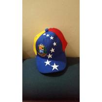 Gorra Tricolor 8 Estrellas De Venezuela