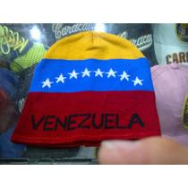 Gorros Pasamontañas Tricolor Fvf Bufandas De Venezuela