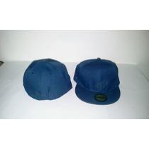 Gorra Plana Azul Marino Cerrada Unicolor