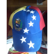 Gorras Tricolor Venezuela Solo Mayor