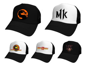 precios increibles una gran variedad de modelos linda Gorras Mortal Kombat 11 Once Retro Scorpion *mr Korneforos*