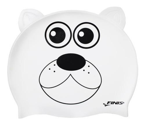 gorras natación niños silicona oso polar blanco oy