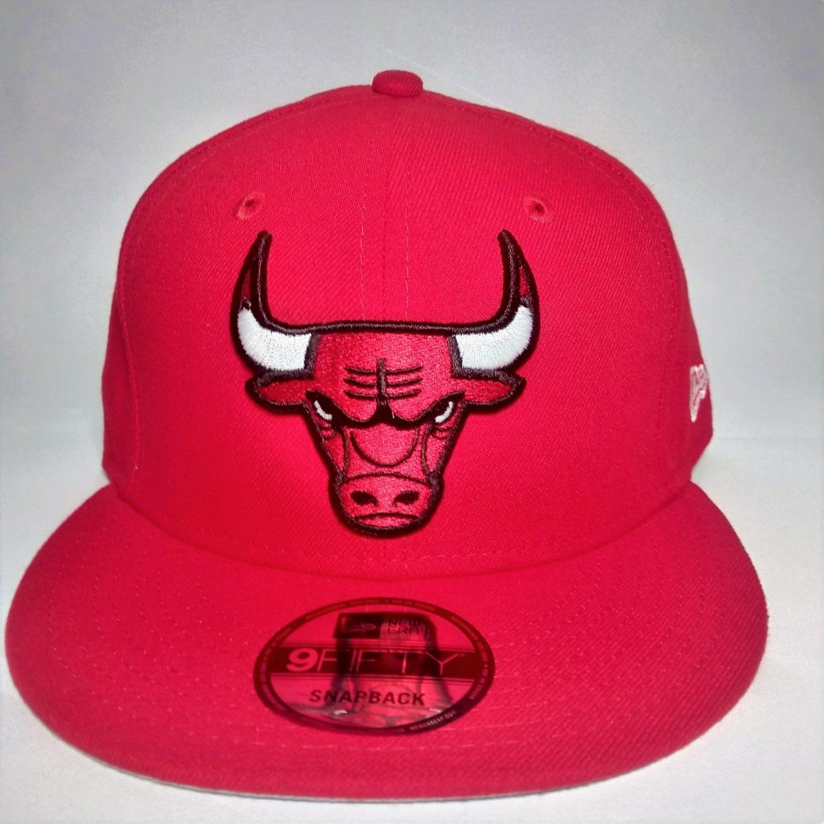 Gorras New Era Chicago Bulls Roja 9fifty Snapback -   94.900 en ... ba11a534a85