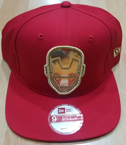 gorras new era iron man new 100% original