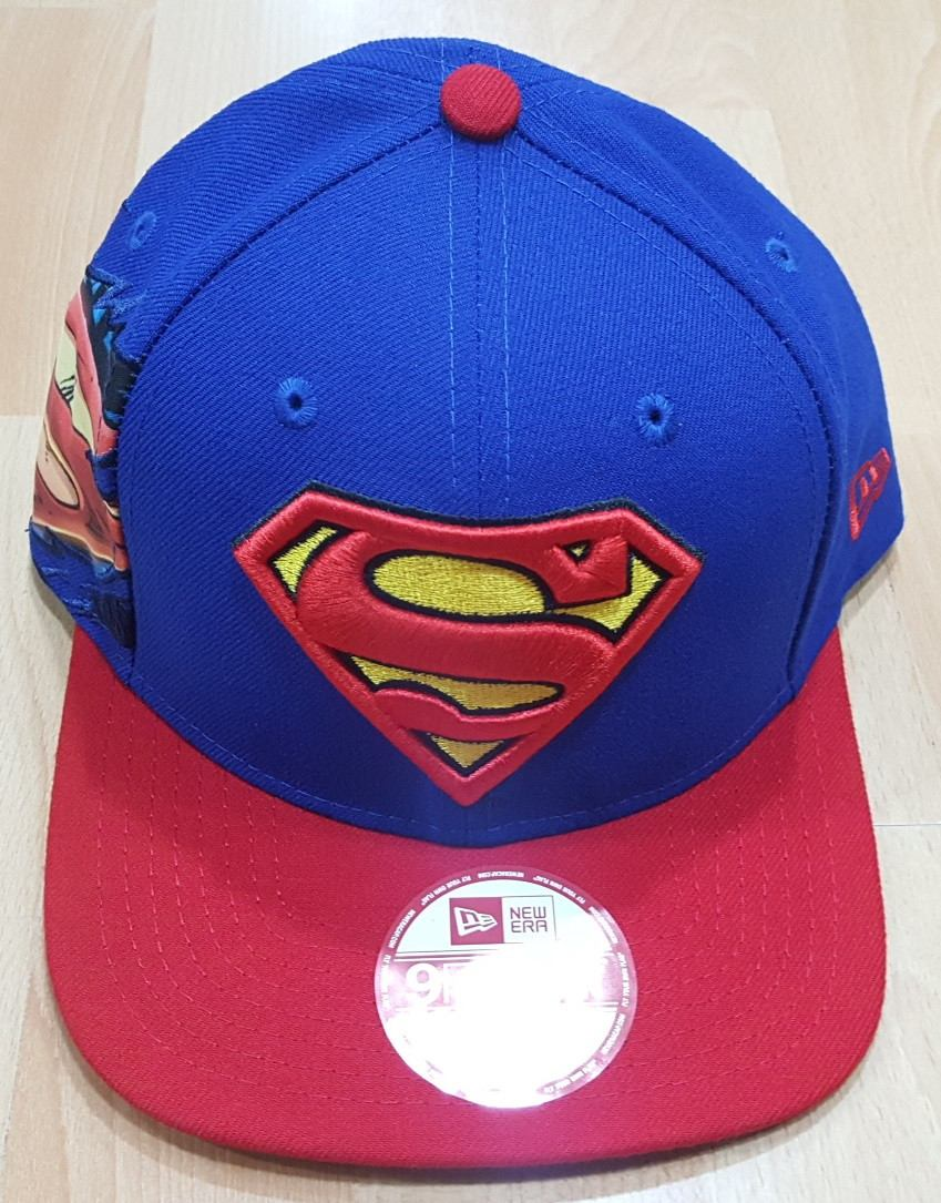 adac2e43cff75 Gorras New Era Superman New 100% Original -   89.997 en Mercado Libre