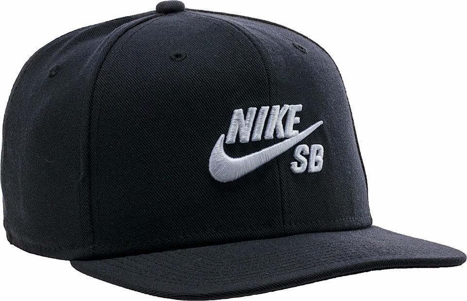 Gorra negra 806050 010 Infield Pro de Nike SB Negro Hombre Sombreros y  gorros d566a2b9f93