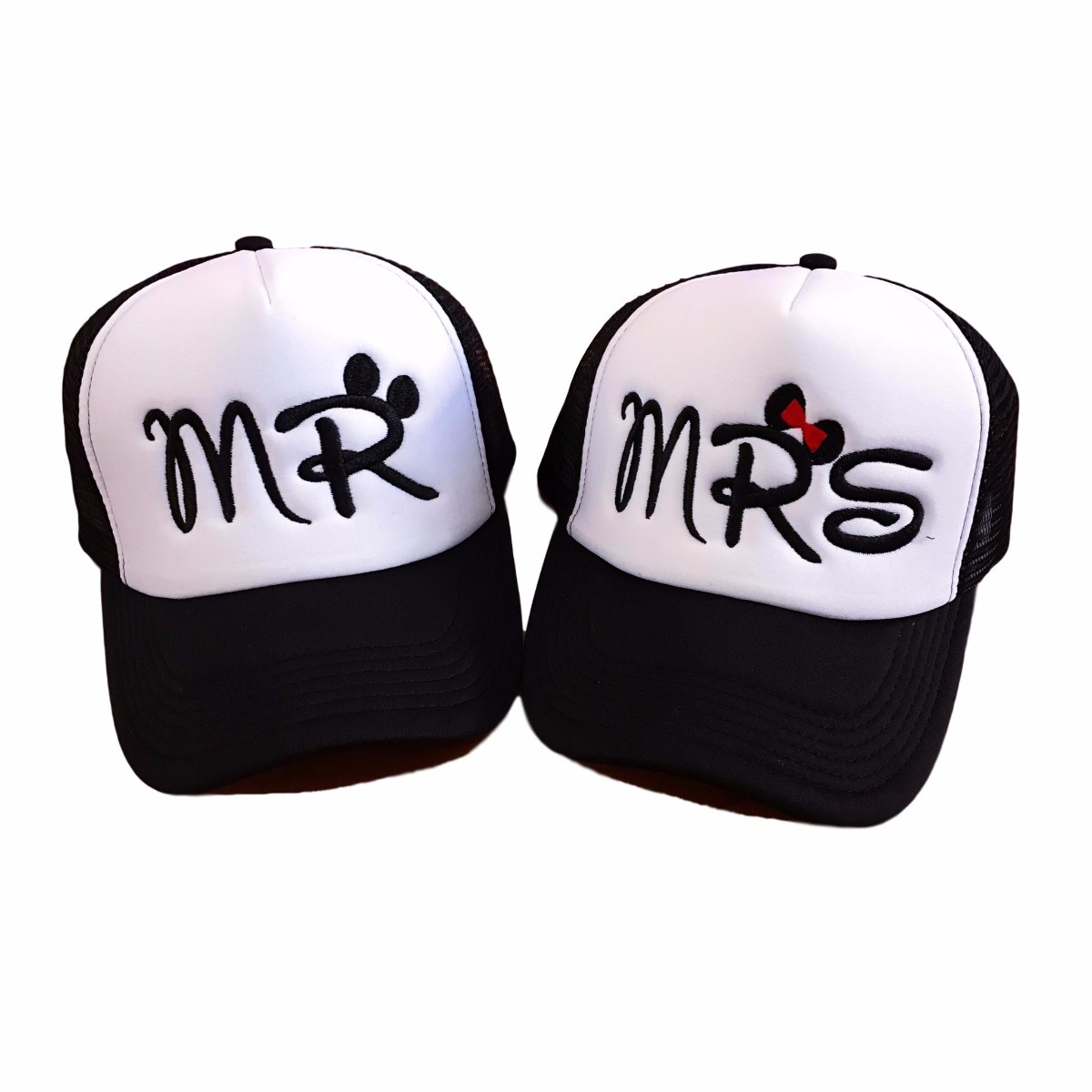 gorras novios bordadas personalizadas mr   mrs cachuchas. Cargando zoom. d9c6f2fc434