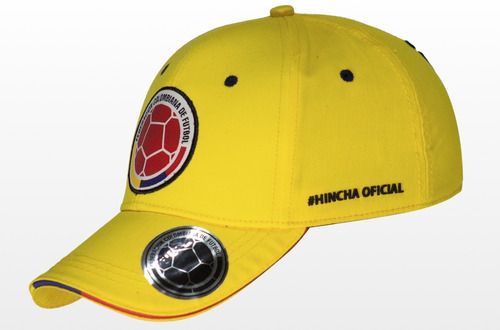 gorras oficiales selección colombia de fútbol  amarilla