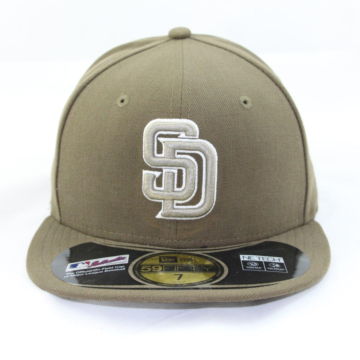 155b5615aab2b Gorra BORREGOS TEC 5950. Gorras Originales New Era Beisbol San Diego Padres  59fifty