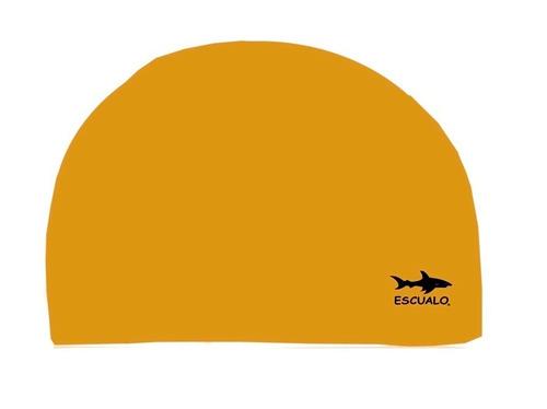 gorras para natación modelo tekno, color oro