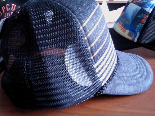 gorras para niño marca rip curl nuevas!