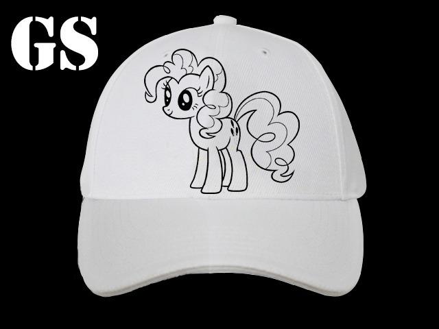 Gorras Para Pintar Con Fibras - 12 Un - Mi Pequeño Pony - $ 2.040,00 ...