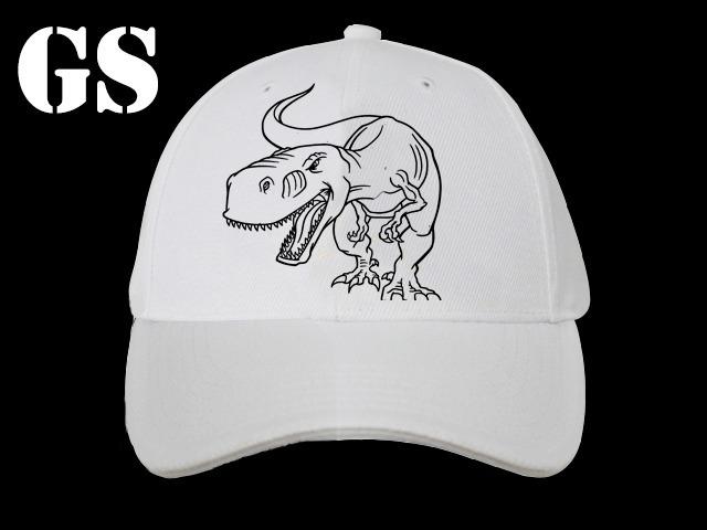 Gorras Para Pintar Con Fibras - 24 Un - Dinosaurios -   4.080 62a0951aebd