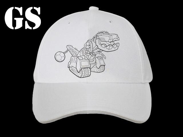 Gorras Para Pintar Con Fibras - 24 Un - Dinotrux - $ 2.440,00 en ...