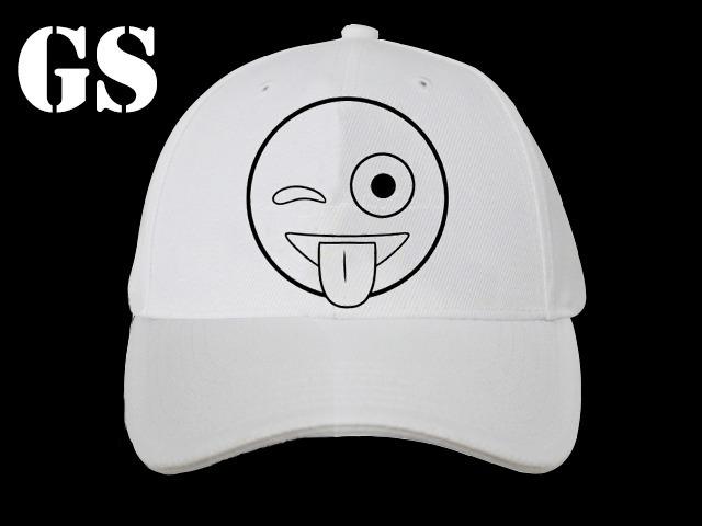 gorras para pintar con fibras 24 un emojis souvenirs 4 080
