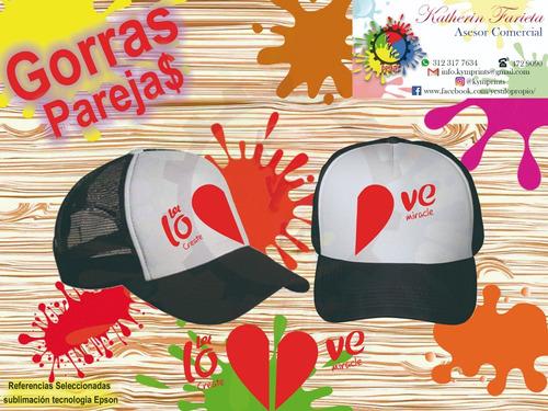 gorras parejas