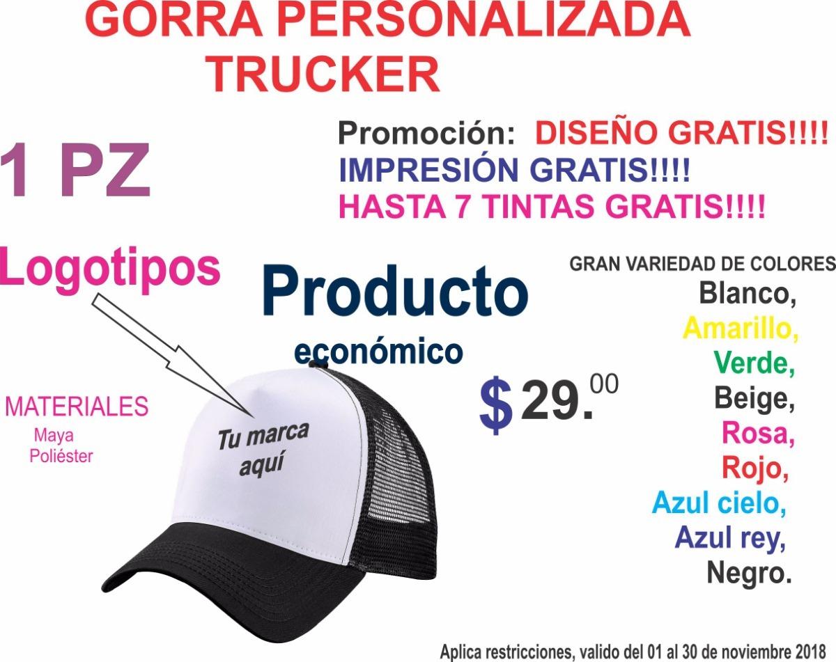 Gorras Personalizada -   28.00 en Mercado Libre 2a5a8136d5f