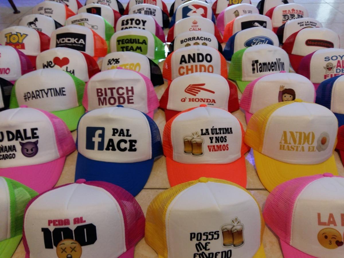 Gorras Personalizadas -   39.00 en Mercado Libre 3c1c34e0109