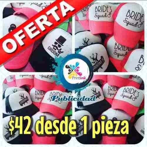 Gorras Personalizadas A Todo Color Boda 3712b488508