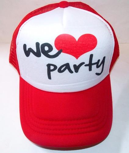 gorras personalizadas despedida boda fiesta evento xv años