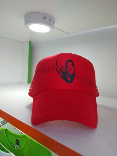 gorras personalizadas en vinilo textil