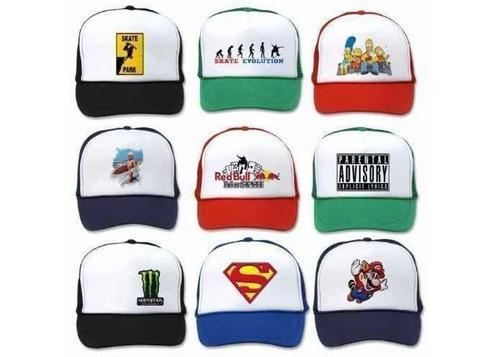 gorras personalizadas estampadas o bordadas