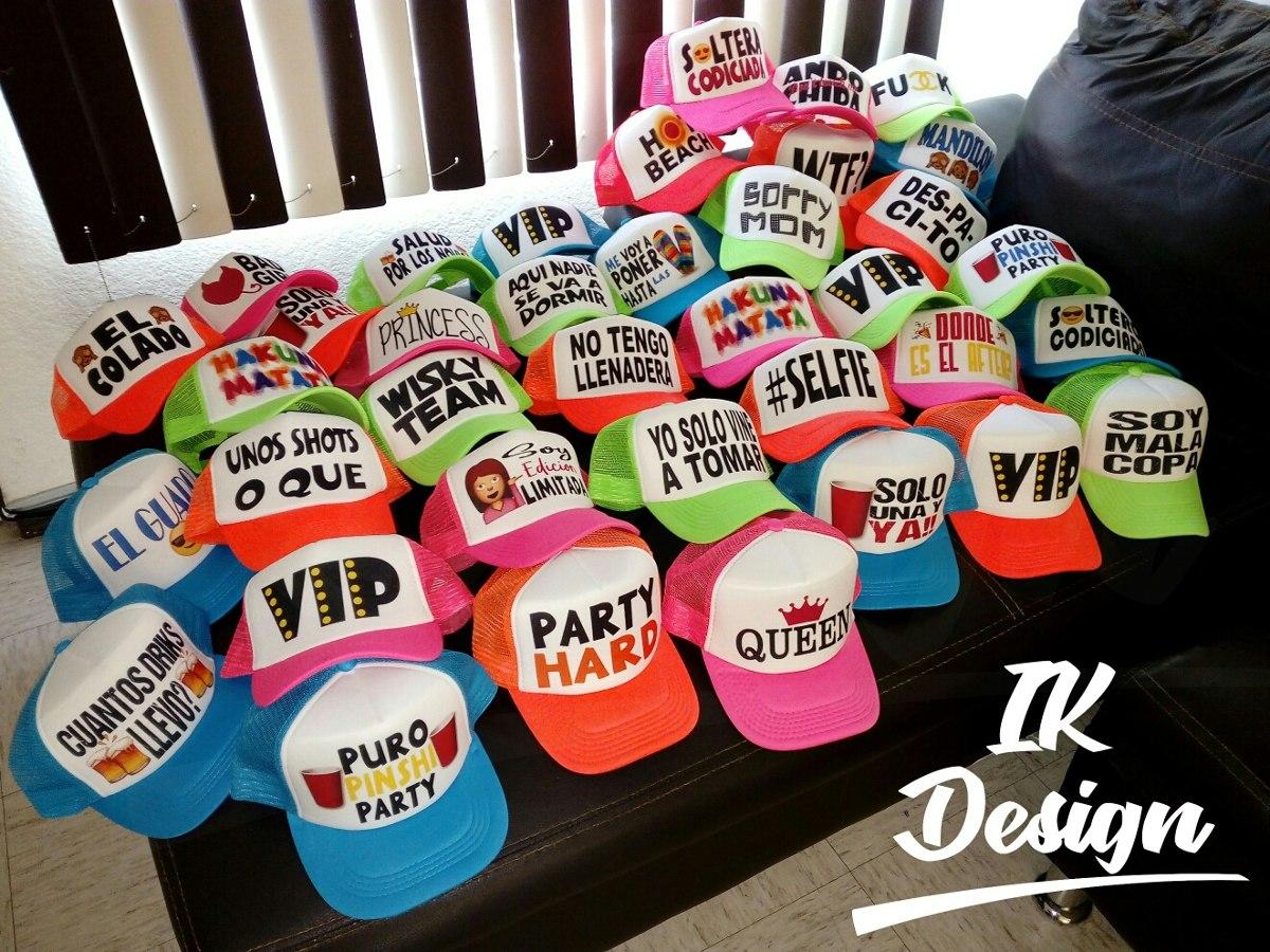 Gorras Personalizadas Todo Tipo De Eventos -   40.00 en Mercado Libre 744dfeab2f0