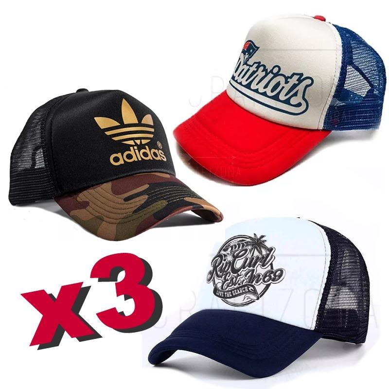 gorras personalizadas trucker 3 unidades a elección. Cargando zoom. d04ebade842