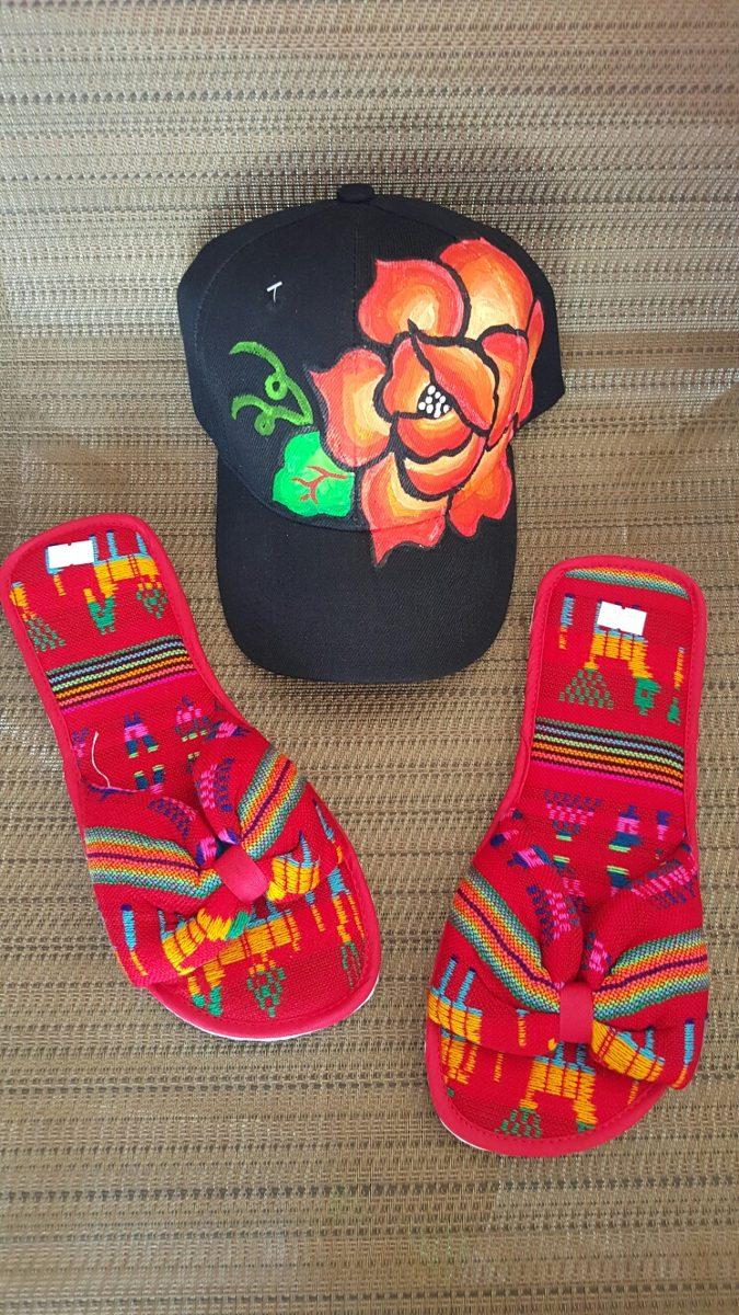 Gorras Pintadas A Mano Arte Istmeño Oaxaca -   235.00 en Mercado Libre 7bfa20323b8