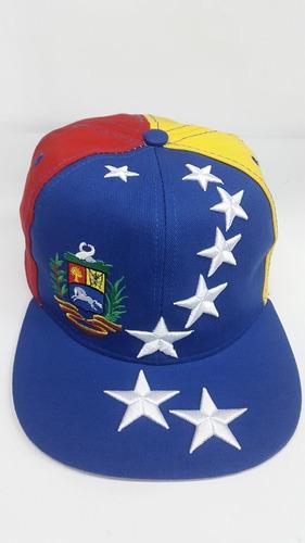 241997617335d gorras plana venezuela 8 estrella y vtinto cerrada ajustab D NQ NP 841521  MLV20778196798 062016 O