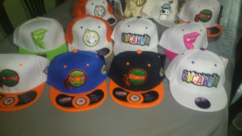 gorras planas al mayor y detal ajustable