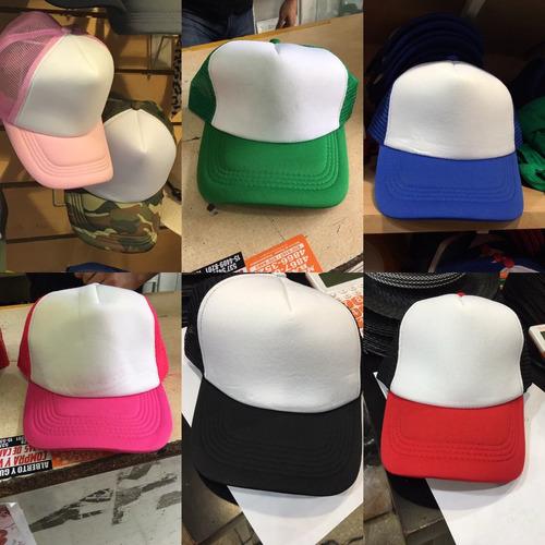 gorras planas diseño personalizado (con tu logo) minimo 12 u