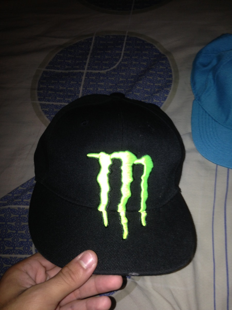 Gorras Planas Monster Originales cd0099c8f2a