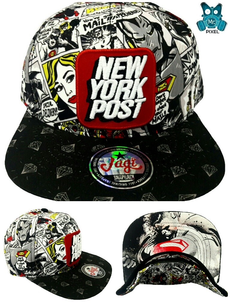 Gorras Planas New York Post Superheroes Snapback -   25.000 en ... 3983ad7ab45