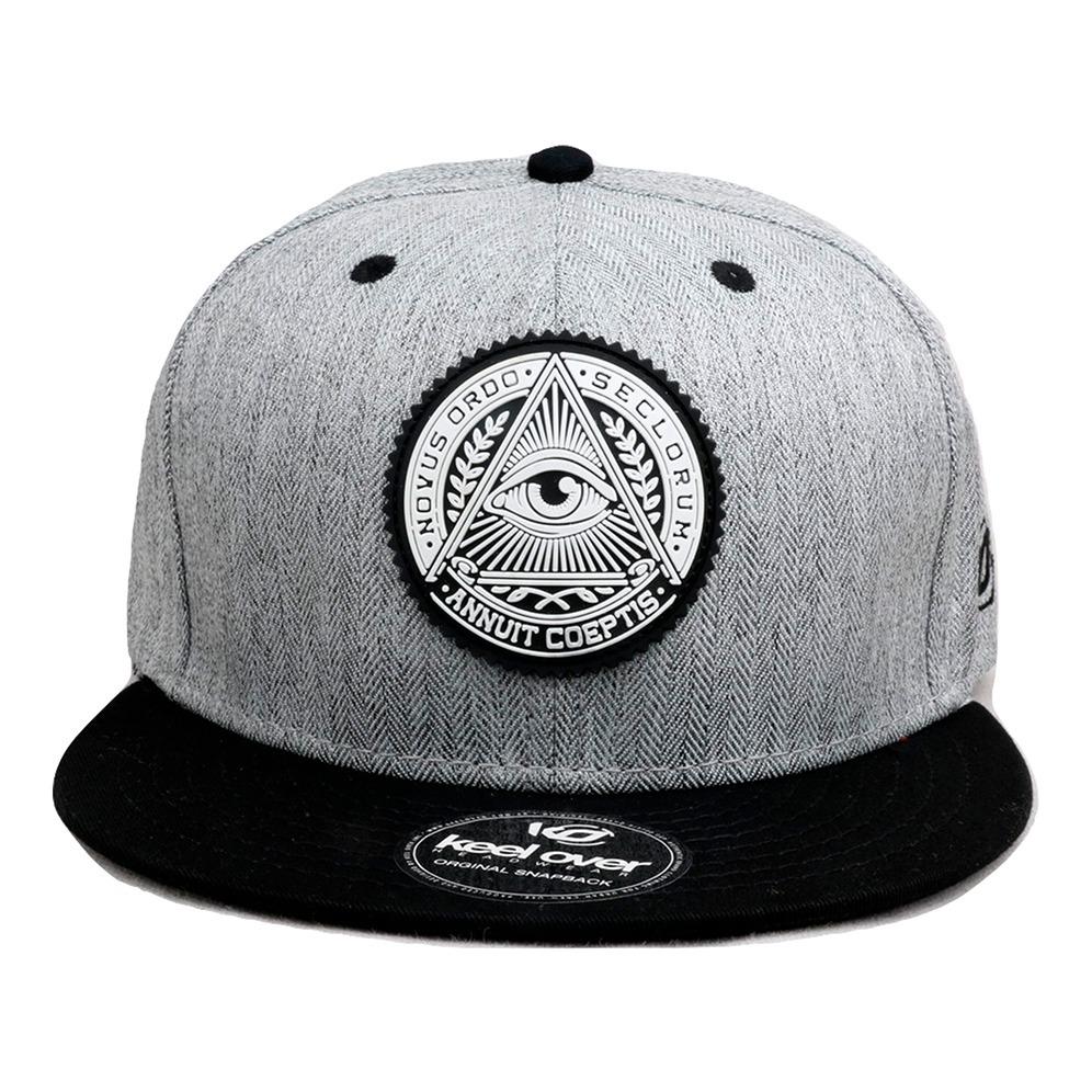 97+ Gorras Planas Snapback Keel Over Illuminati Original 659 99 En ... f3661e1bdee