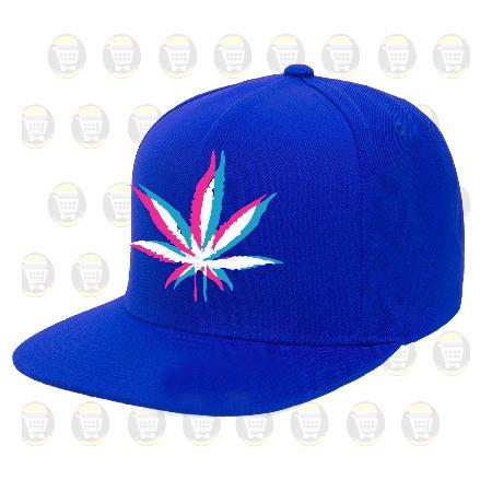 Gorras Planas Snapback Personalizadas Ref  Marihuana 3d Weed ... 3e4add62969