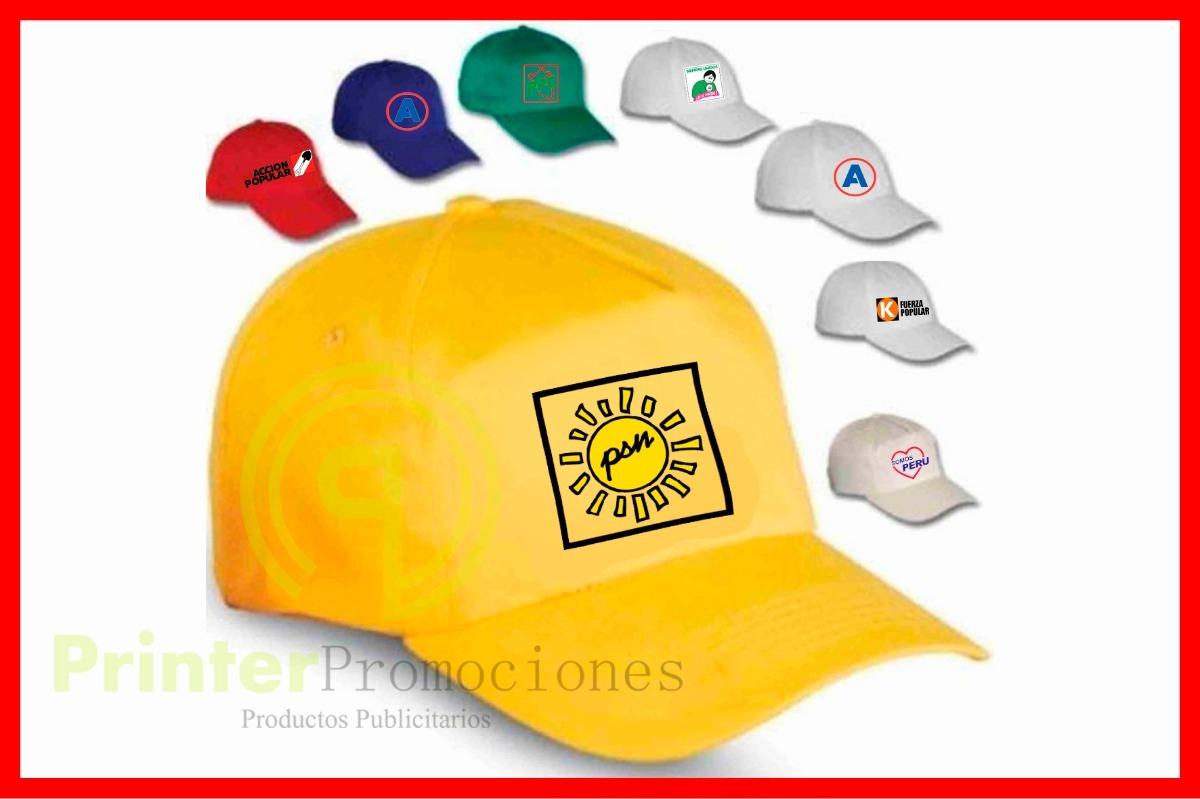 gorras publicitarias campaña politicas somos fabricantes. Cargando zoom. 76270f76844