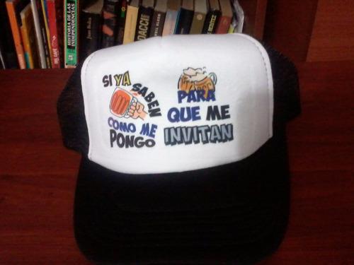 gorras publicitarias o para eventos , diseño personalizado