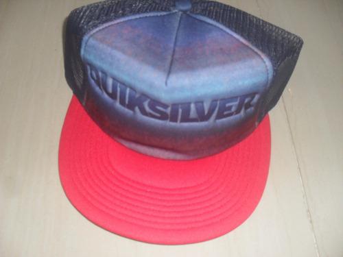 gorras quiksilver 100% originales, somos tienda fisica