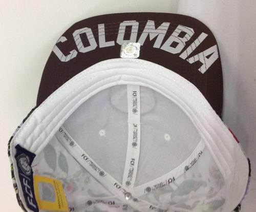 gorras selección colombia de fútbol original los cafeteros