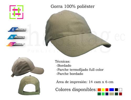 gorras sublimadas bordadas parches en varios modelos y color