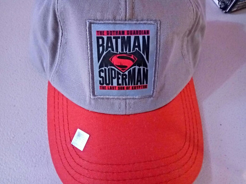 gorras superman vs batman