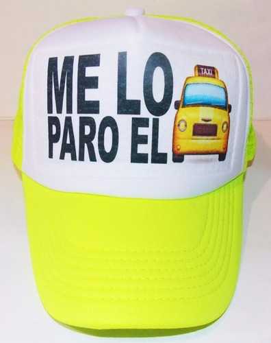 gorras tipo trucker moda neon frases dama p/ fiesta