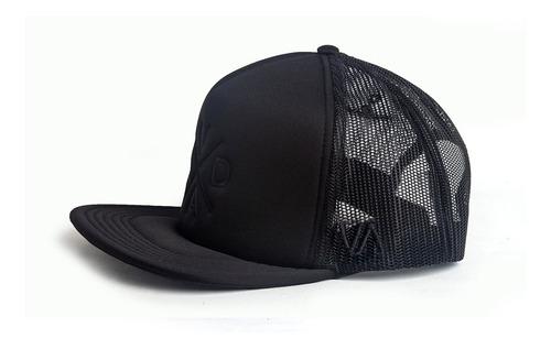 gorras tracker cap valimited  hombre negro logo bordado