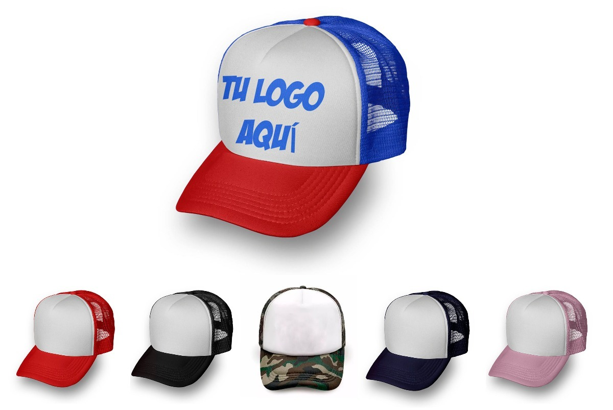 gorras trucker 20u tu logo personalizada calidad premium. Cargando zoom. a88f8d670fd