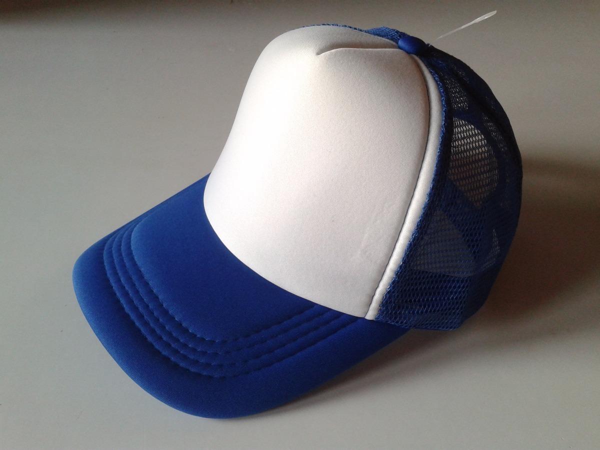 gorras trucker azul francia visera curva sublimación vinilo. Cargando zoom. 228a7e339f5