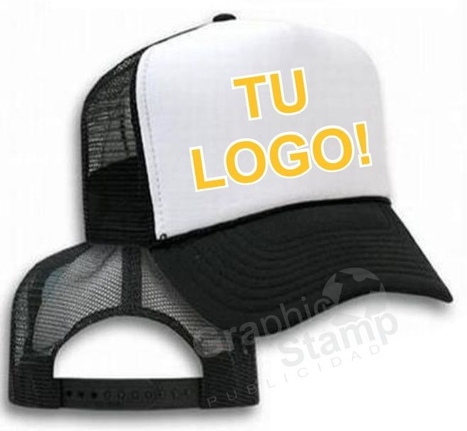6084eb31b0085 Gorras Trucker Estampadas Con Tu Logo