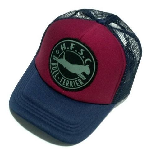 gorras trucker hf ® bordo y azul en stock originales!!